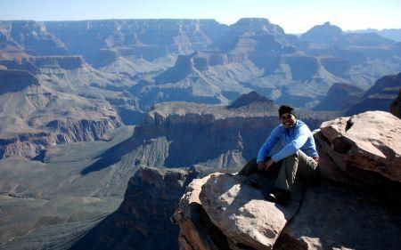 Melaina at Grand Canyon