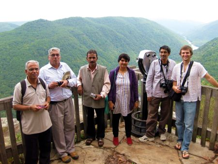 India Delegation in Appalachia