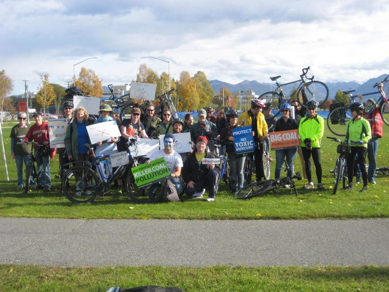 Anchorage Moving Planet bikes