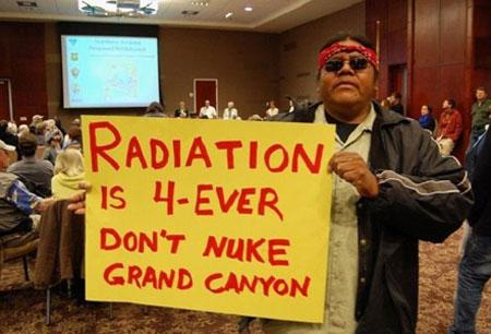 Uranium-hearing
