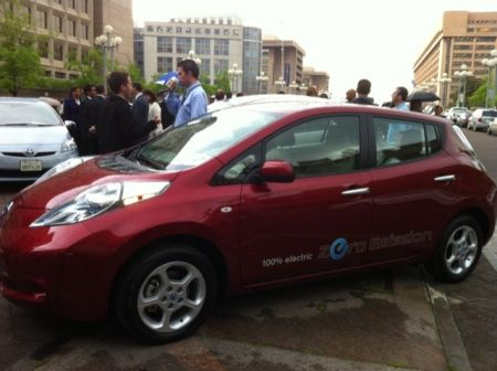 Leaf at 2011 EDTA Innovation Motorcade