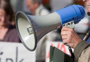 Protest megaphone