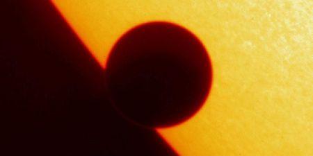7-22-11 Sun and Planet NASA