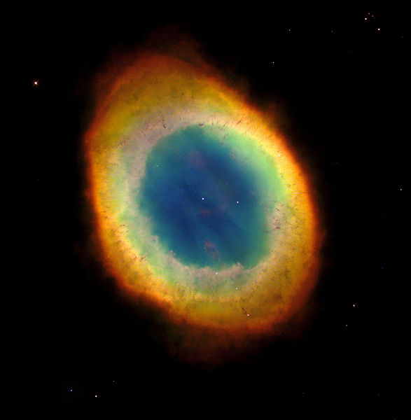 8-5-11 M57 Ring Nebula NASA STScI AURA