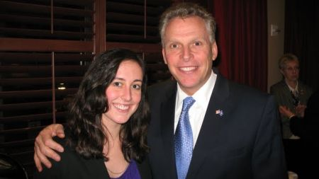 Trieste Lookwood and Terry McAuliffe