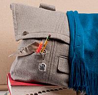 DIY blazer backpack