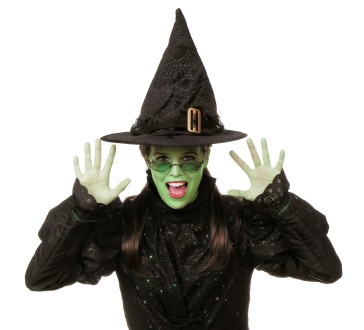 Green makeup recipes for a wicked costume