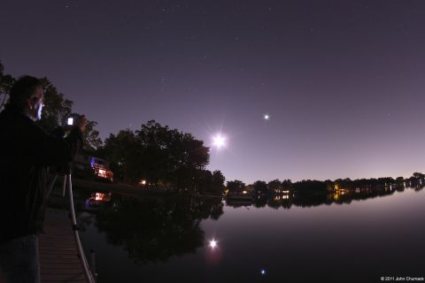 10-28-11 Moon-JupiterLakeReflections_Chumack