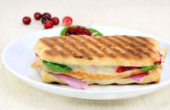 Turkey panini melt