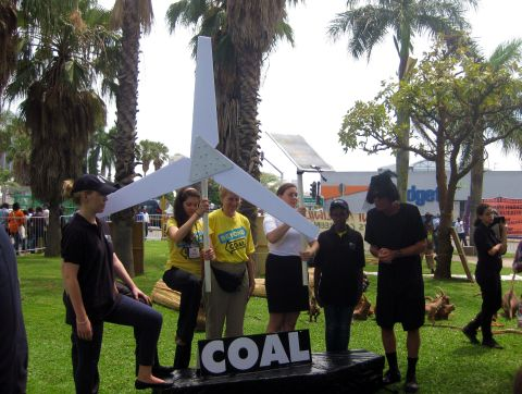 Coal Funeral at Speakers Corner, Durban, South Africa