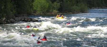 Rafting-on-the-Lochsa