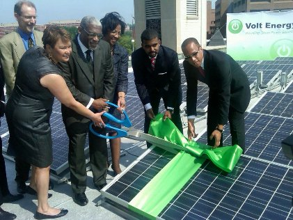 Lisa Jackson and solar power