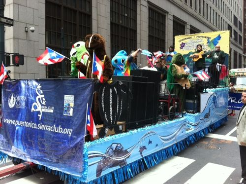 Sierra Club float