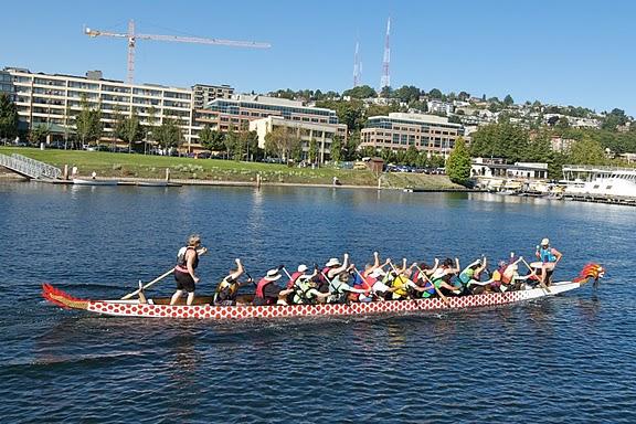 Seattle arrive by boat