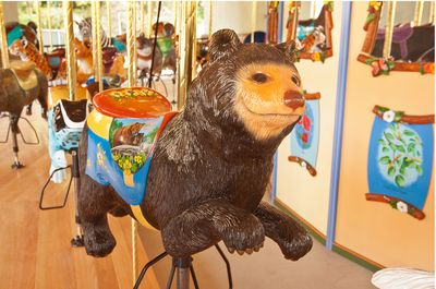 L.A. Zoo carousel
