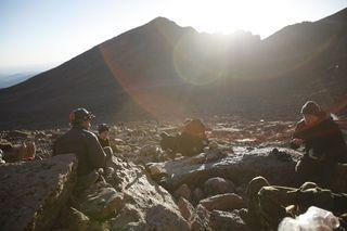 Veterans Relaxing in RMNP