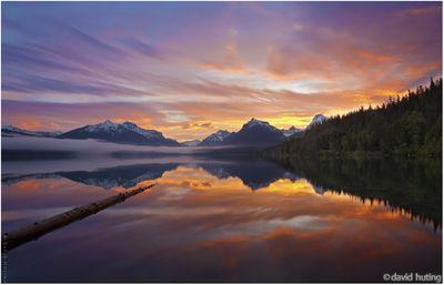 Glorious Glacier Sunrise