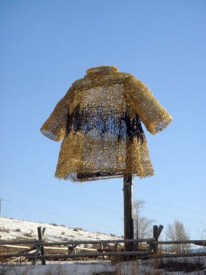 Charlie Brown sweater in Wyoming