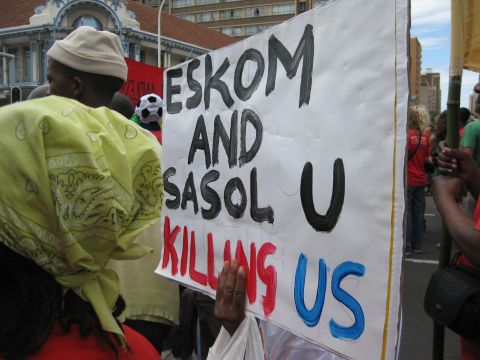 Eskom and Sasol sign