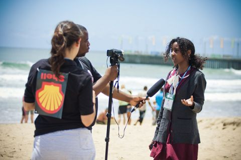 Sierra Club at Heads in the Sands event