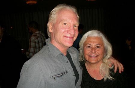 Lynn-Henning-&-Bill-Maher