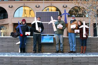 Campuses Beyond Coal deliver petitions in MN