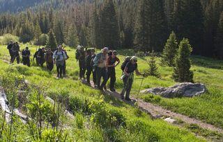 Veterans Hiking