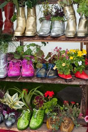 Shoe garden