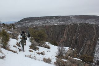 On top the Black Canyon