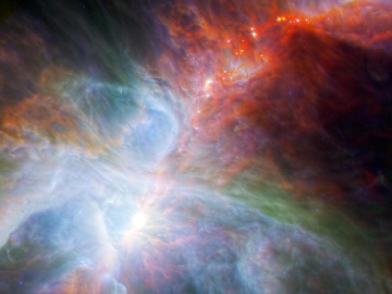 NASA-Orion's Rainbow