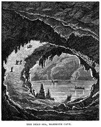 Mammoth cave illustration