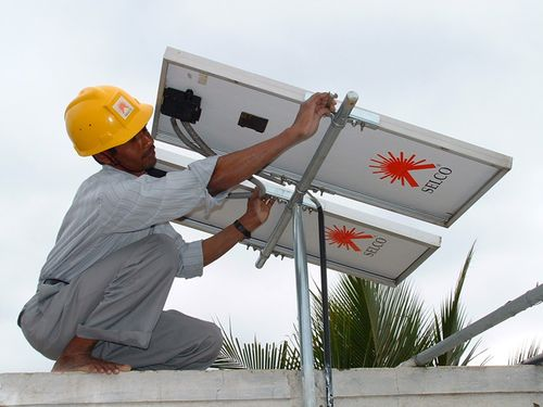 Selco solar install