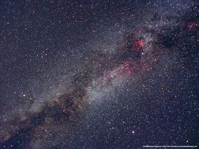 July 2012 Cygnus portion of Milky Way Chumack