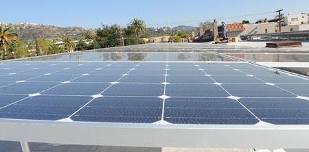 Temple-Sinai-solar-array