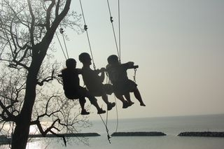 Giant Swing over the Chesapeake