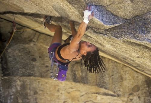 Rock Climber Chelsea Griffie