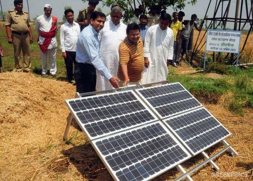Bihar solar pump set