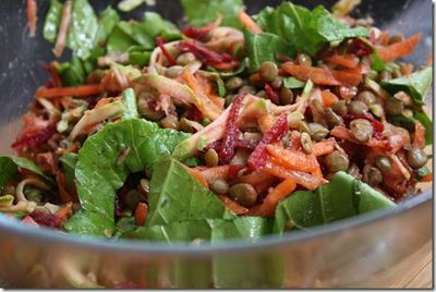 Kitchen sink salad recipe