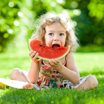 Fruit is certainly a hit with the younger crowd