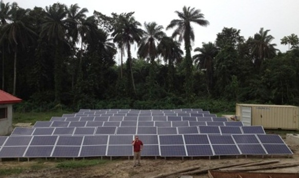 SunDial system being deployed in Nigeria