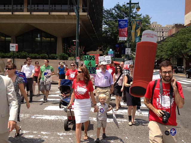 Philly stroller brigade - Photo by Kim Teplitzky