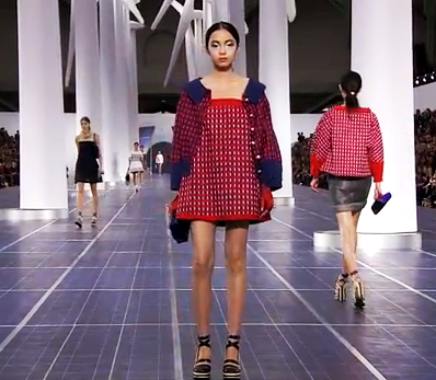 2013 Chanel Fashion Show Screenshot