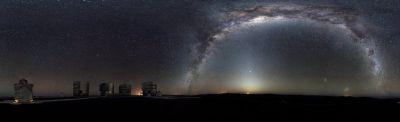 November 2012 Southern Hemisphere panorama ESO HH Heyer