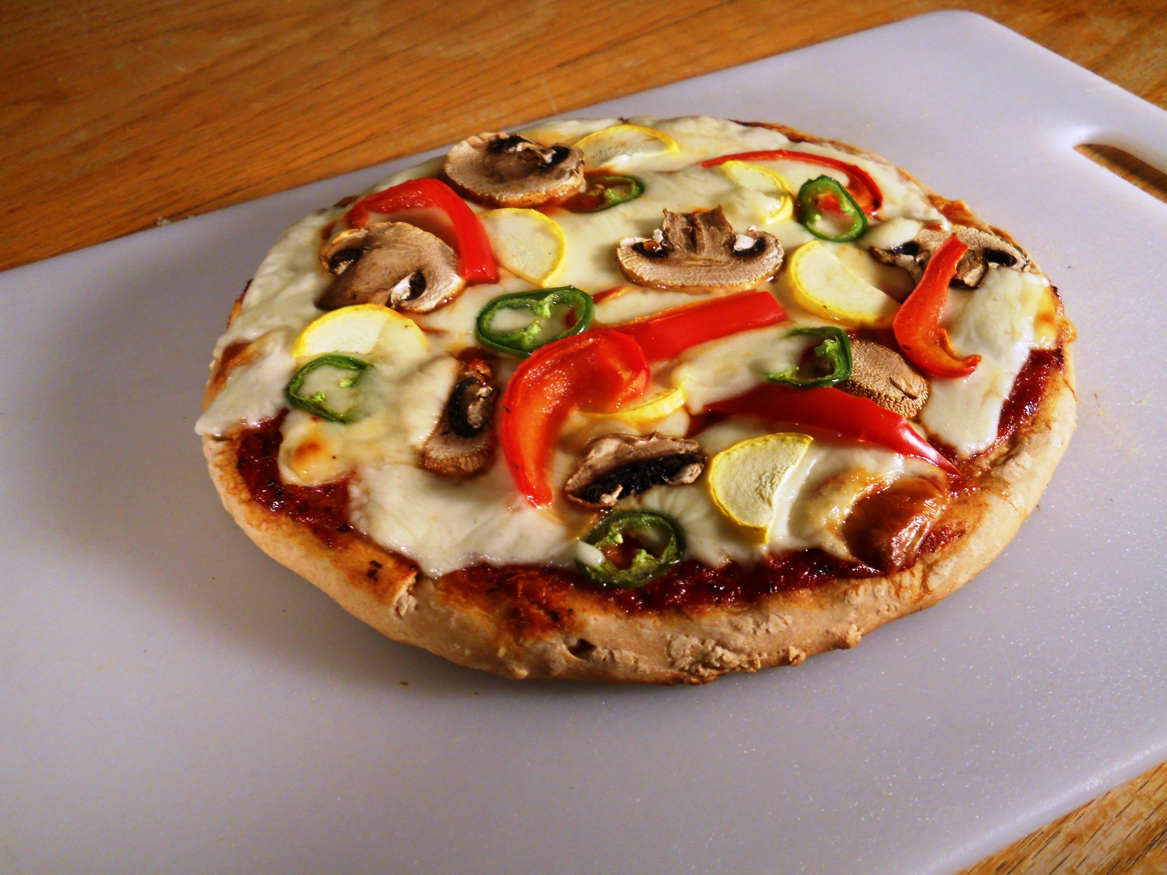 Fresh Pizza at Home