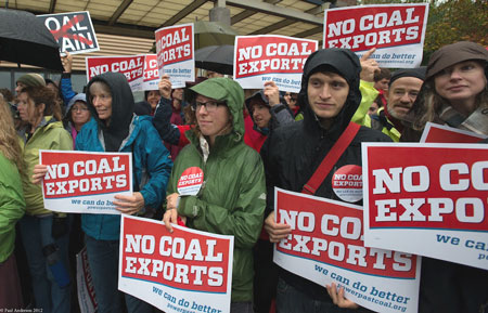 Coal-export-terminal-rally