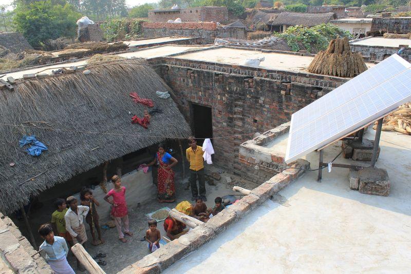India solar mini-grid pic 1