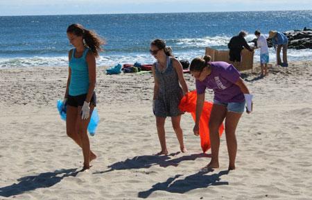 Belmar-beach-cleanup