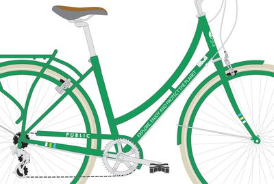 Sierra Club bike