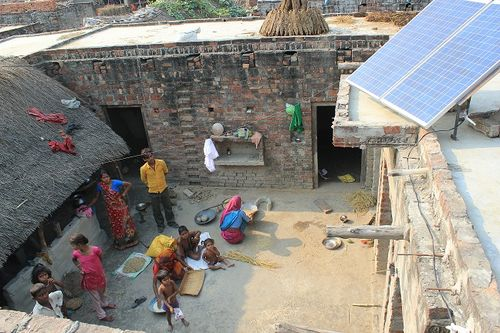 Roof top solar pic