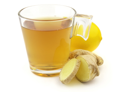 Lemon Ginger  Maple Toddy